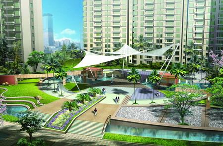 上海联洋城市花园景观设计