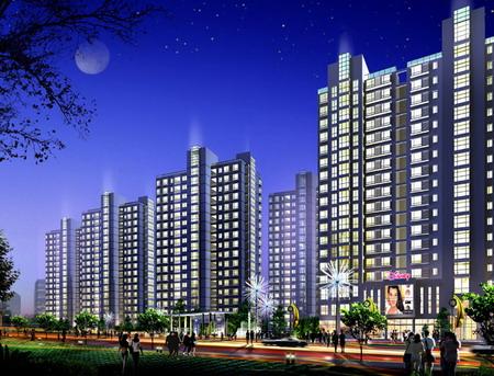 上海星辰阳光花园建筑设计