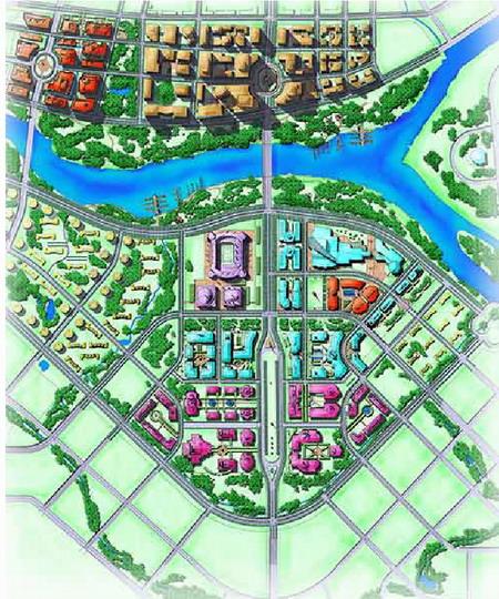 首页 国内案例经典 城市设计篇 >> 详细信息  整个规划设计描绘出一个图片