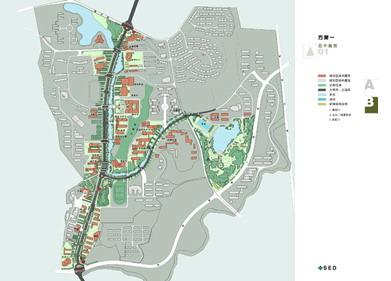 湖北三峡大学校园景观规划
