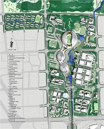 """设计显现地方精神:奥林匹克公园""""龙之谷""""方案景观分析"""