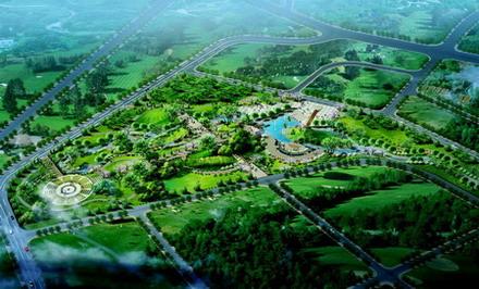 绿地系统规划-城市规划篇-案例经典-重庆园林景观
