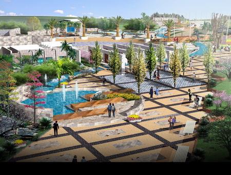東部新城音樂廣場景觀設計