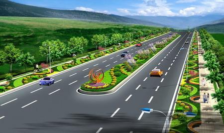 重庆公司世纪大道景观设计上海浦东装修设计道路v公司图片