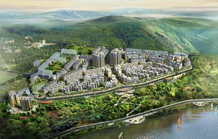 四川省武胜县杰宇花园规划设计