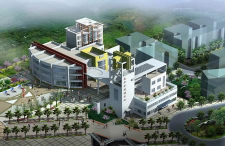 奉节县华字塔公园青少年活动中心建筑方案设计