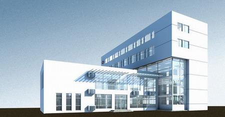 礼嘉卫生院建筑方案设计