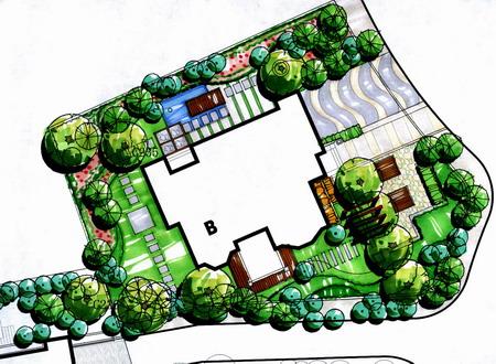 小泉别墅景观设计