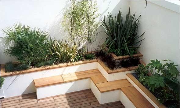 屋顶花园的设计