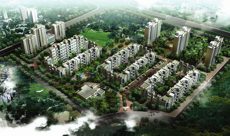 上海柏林春天住宅小区建筑设计图片